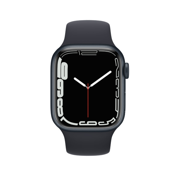 Apple Watch Series 7 - 41mm / GPS + Cellular / Midnight Aluminium Case / Midnight Sport Band
