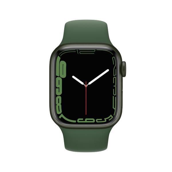 Apple Watch Series 7 - 41mm / GPS + Cellular / Green Aluminium Case / Clover Sport Band