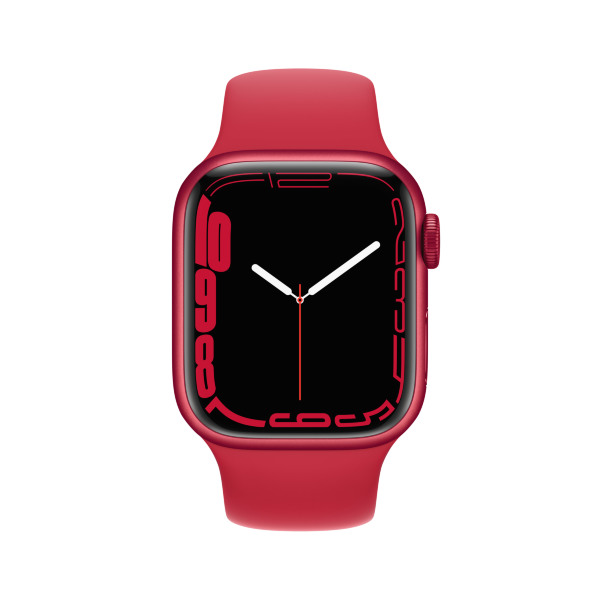 Apple Watch Series 7 - 41mm / GPS + Cellular / (PRODUCT)RED Aluminium Case / (PRODUCT)RED Sport Band