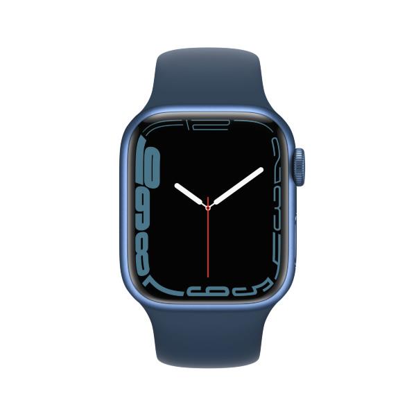 Apple Watch Series 7 - 41mm / GPS / Blue Aluminium Case / Abyss Blue Sport Band