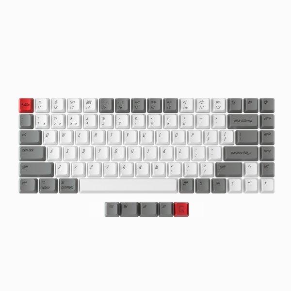 Keychron K2 Nordic PBT Keycaps - Retro