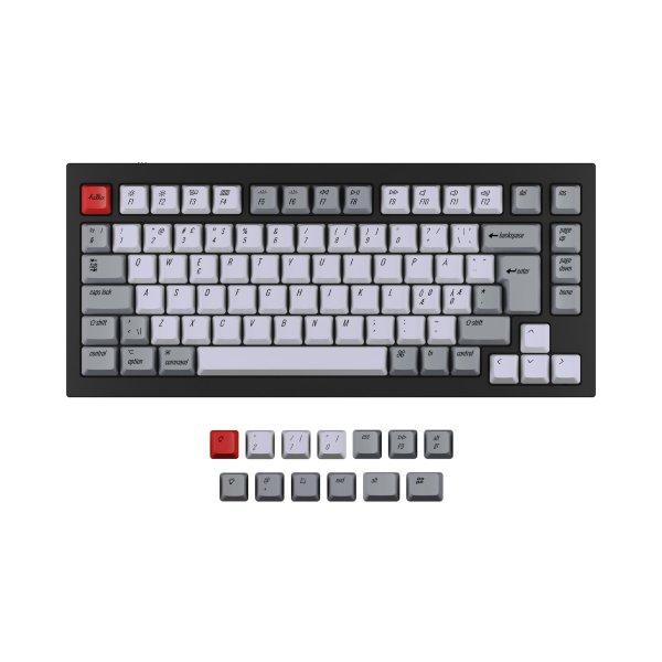 Keychron Q1 PBT Keycap set ISO Nordic - Retro