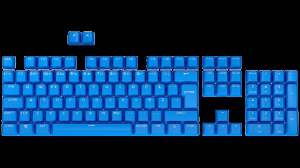 Corsair PBT Double-Shot Pro Keycap Mod Kit - Nordic - Elgato Blue