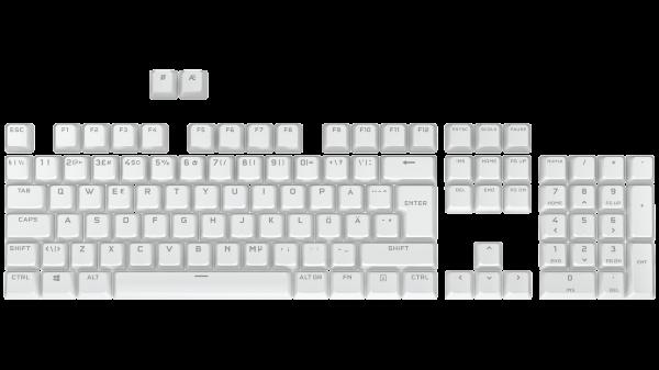 Corsair PBT Double-Shot Pro Keycap Mod Kit - Nordic - Arctic White