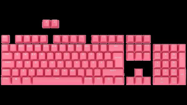 Corsair PBT Double-Shot Pro Keycap Mod Kit - Nordic - Rogue Pink
