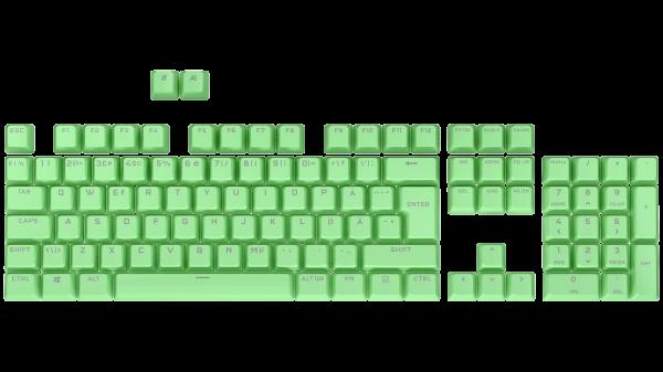 Corsair PBT Double-Shot Pro Keycap Mod Kit - Nordic - Mint Green