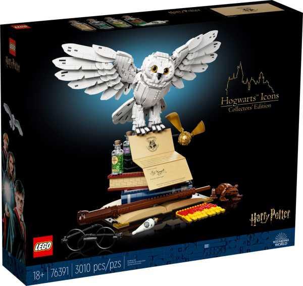 LEGO Harry Potter Hogwarts ikoner – samlarutgåva 76391