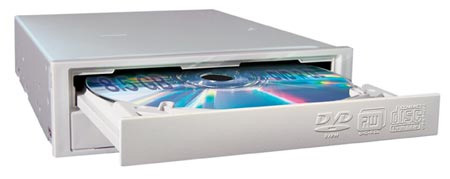 Dvd+rewritable (пишущий), nec nd-2500a (япония)