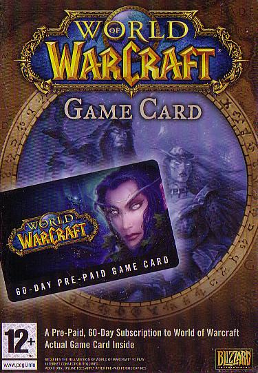 World of Warcraft - 60 Days Game Time Card (EU Version)