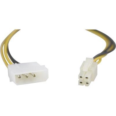 Deltaco 4 till ATX12v (P4) Adapter (30cm)