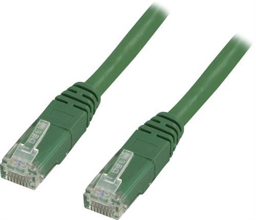 Deltaco UTP Cat6 Nätverkskabel / 2m – Grön