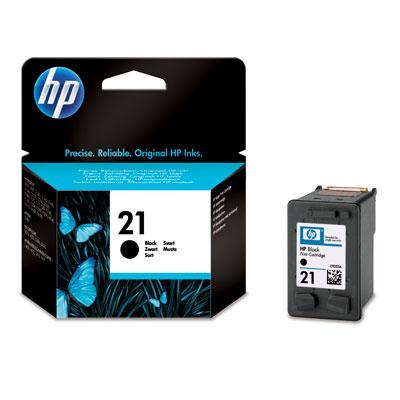 HP Bläck No.21 Svart (5ml)