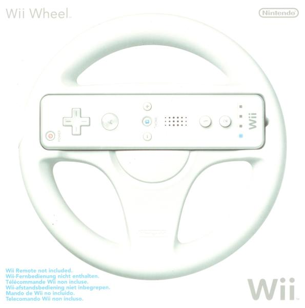 Nintendo - Mario Kart Wii Racing Wheel