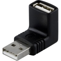Deltaco USB-Adapter Vinklad (A ha -> A ho)