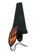 MadCatz - Rock Band Fender Guitar Straps Flames