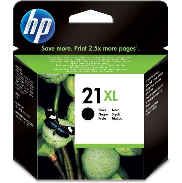 HP Bläck No.21XL Svart (12 ml)