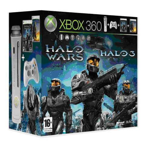 Xbox 360 Basenhet - Pro HDMI Version (Inkl. 60GB H�rddisk) - Best of Halo Edition