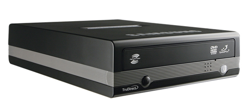 Samsung Extern DVD±RW 22x - Svart (Lightscribe / USB2)